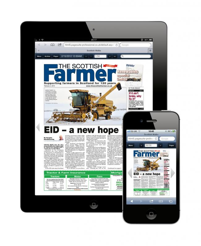 If you can't get your copy of The Scottish Farmer today, read it for