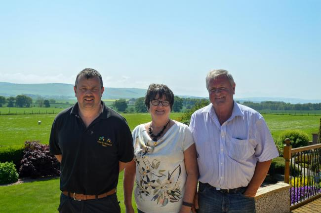 The Wilson team – Stuart, Alyson and Allan – who originally hail from Ayrshire but moved to Ross-shire in 1976, before establishing Allan WJ Wilson, based at Balnagore, Fearn, near Tain