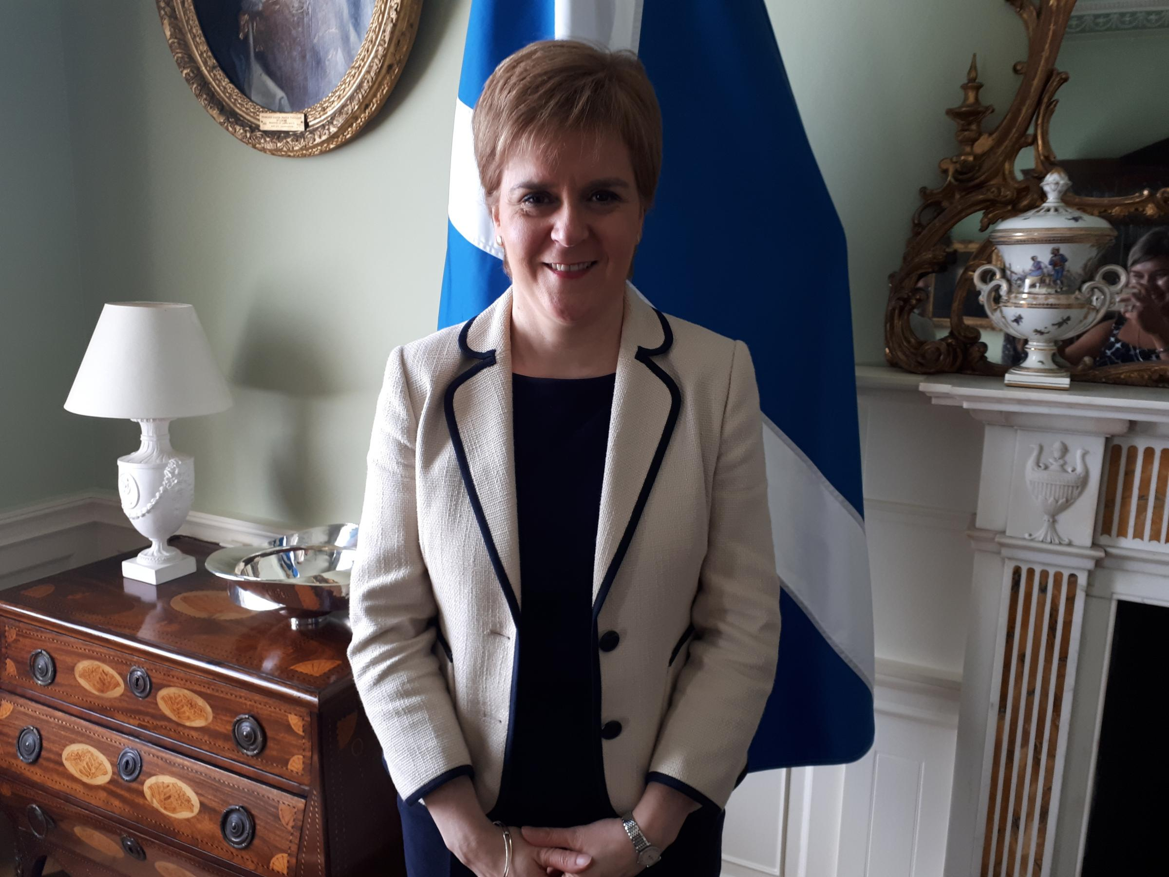 First Minister for Scotland, Nicola Sturgeon, outlined her committment to the rural economy and promised to protect the sector in a post-Brexit environment