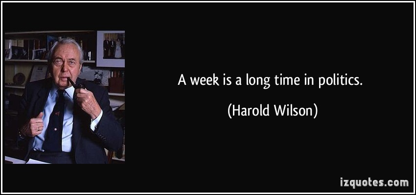 Harold Wilson knew what he was talking about