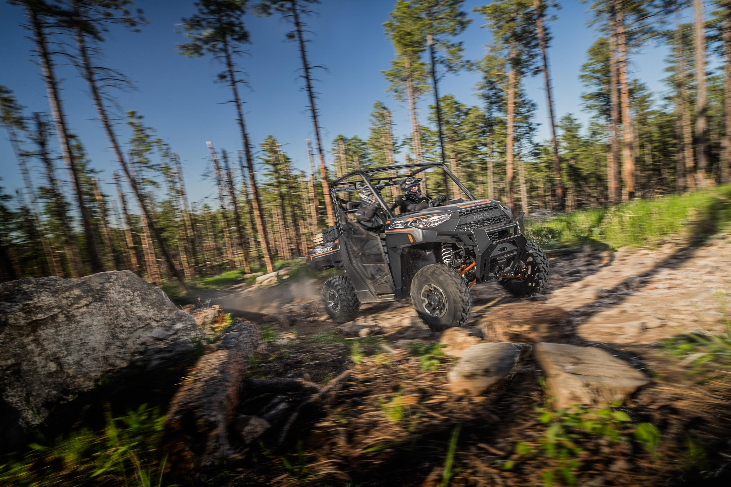 The all-new Ranger XP 1000 from Polaris