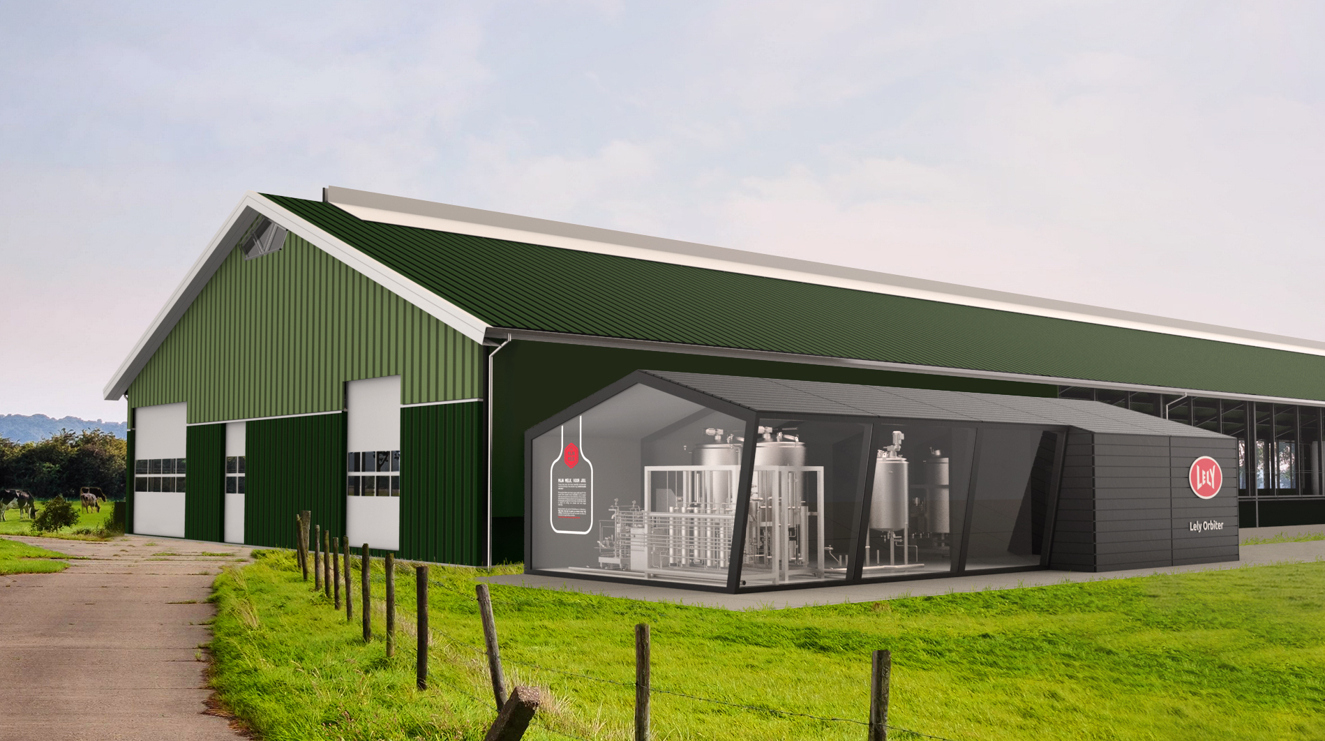 New Orbiter from Lely aims to future proof dairy businesses