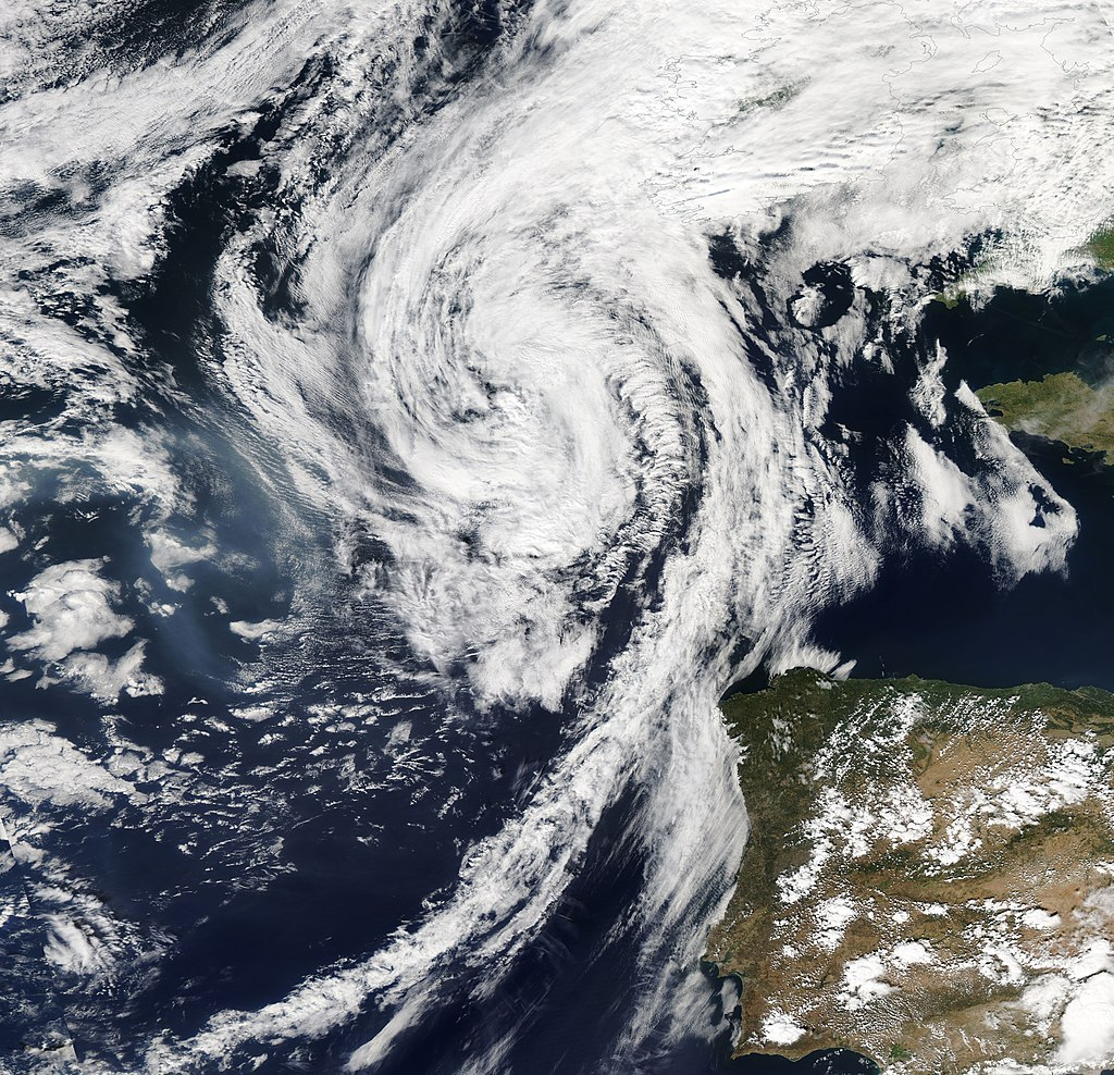 The East Atlantic storm season is underway