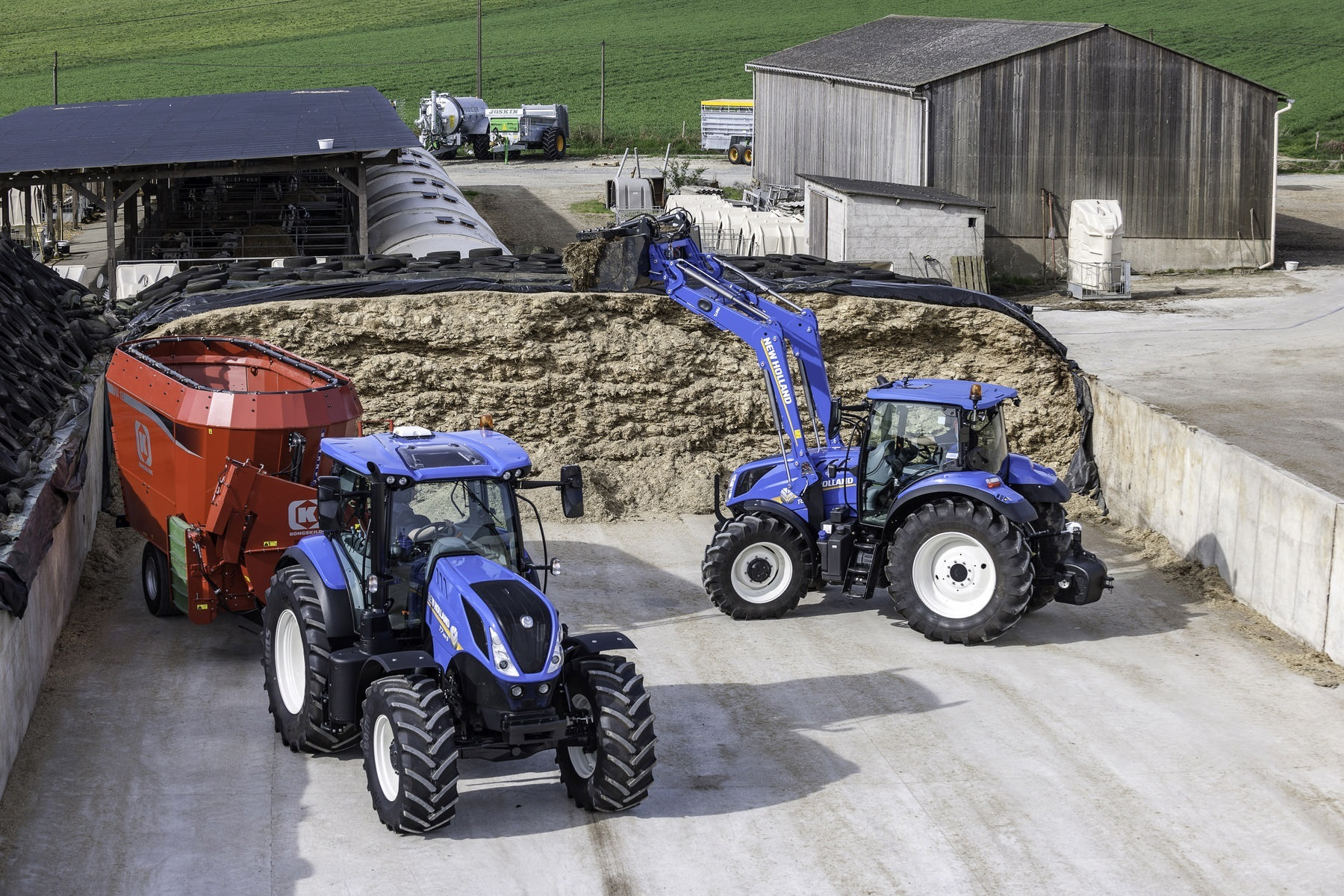 The Essential range is New Holland's no frills take on its popular T7 range