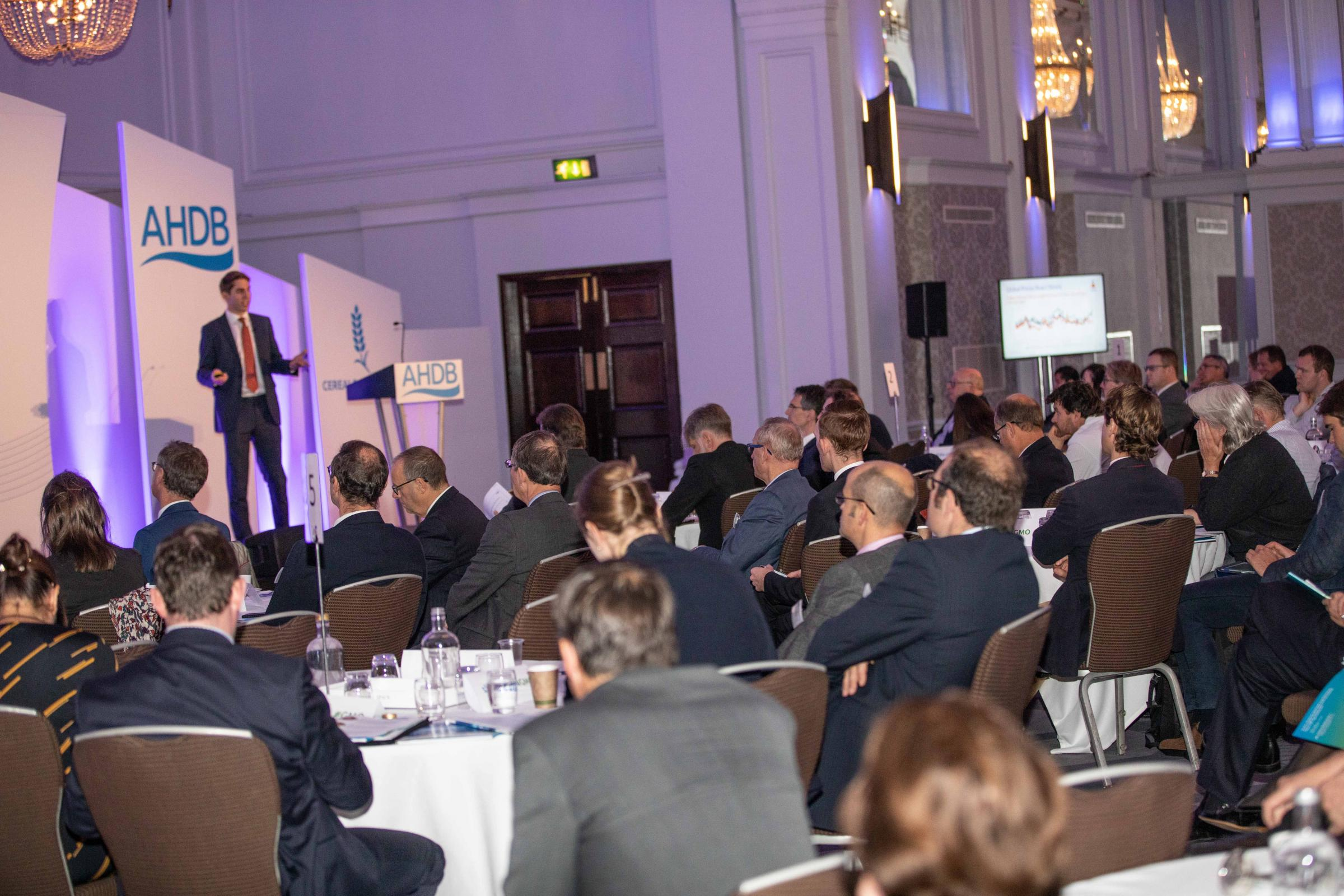 A busy grain and oilseed conference held by AHDB heard of the challenges ahead for the industry