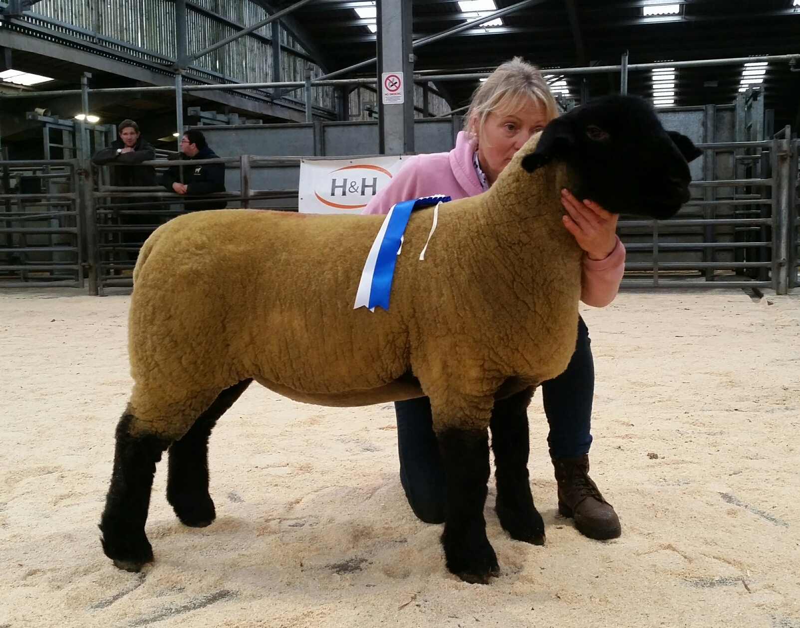 Pamela Lupton's reserve champion topped the sale at 1000gns