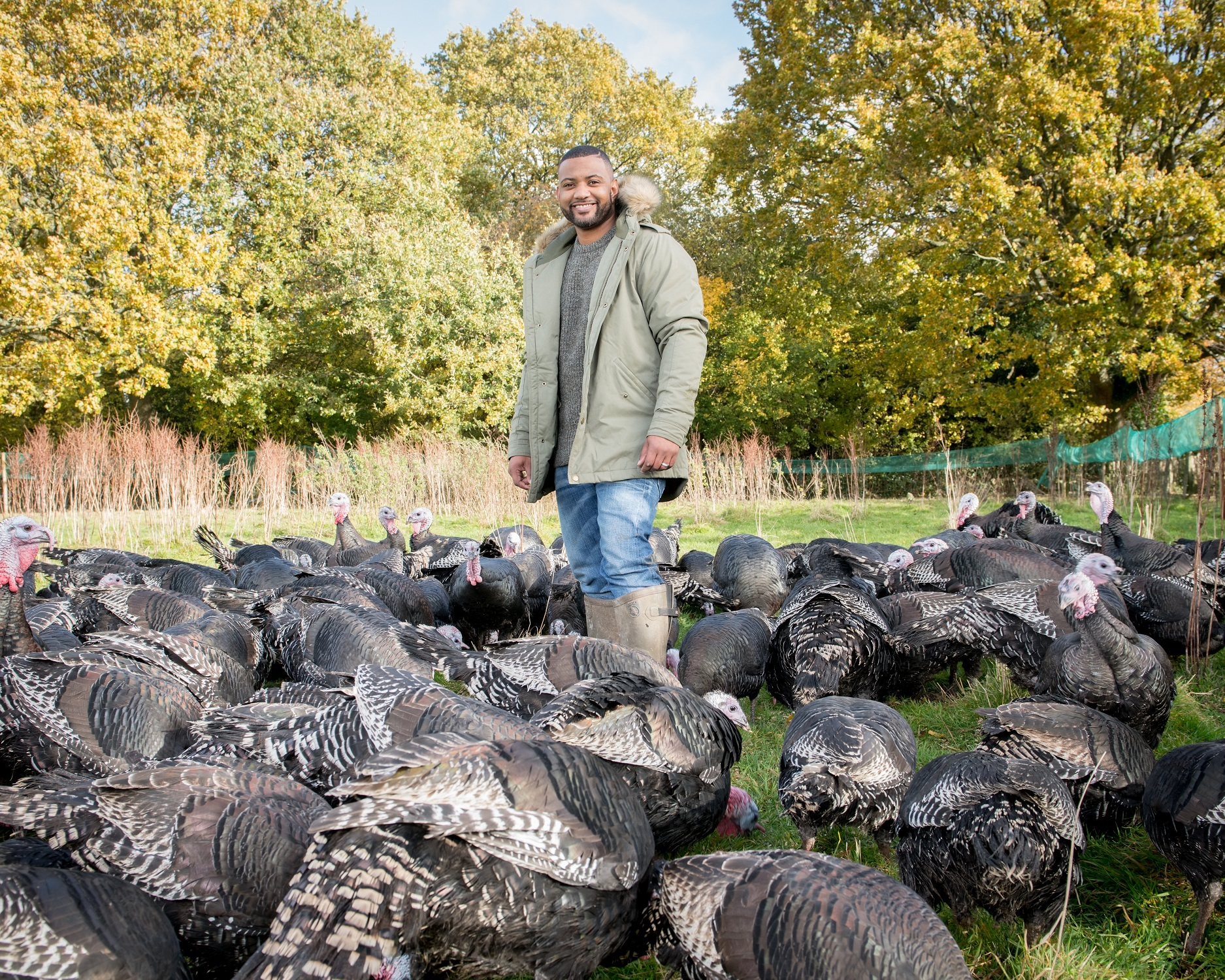 TV presenter and turkey farmer JB Gill has given his support to Barclay's campaign to inspire more young people to take up farming careers