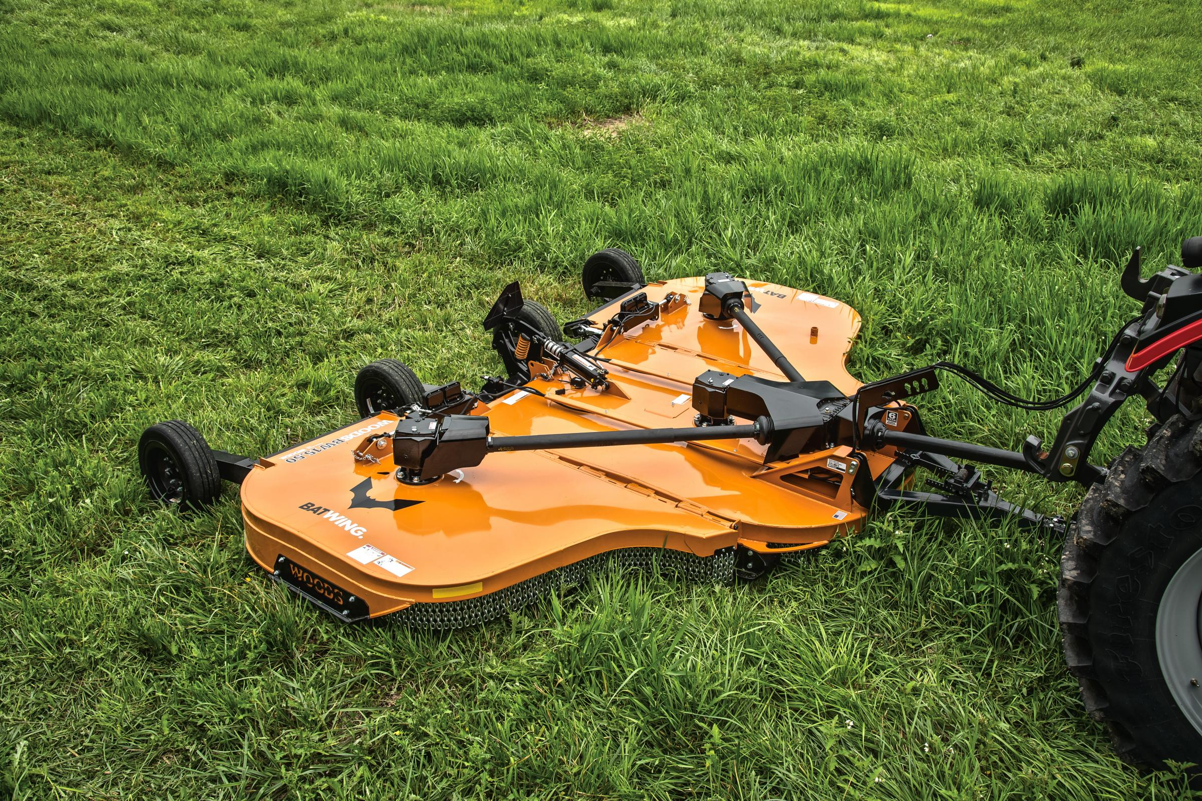 The Woods Batwing mower