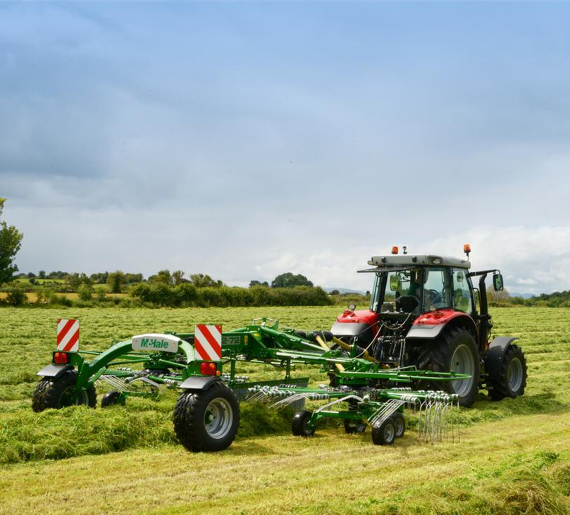 LAMM will be the launch pad for McHale's new centre delivery rake and the company will also have updates to its famous balers on show