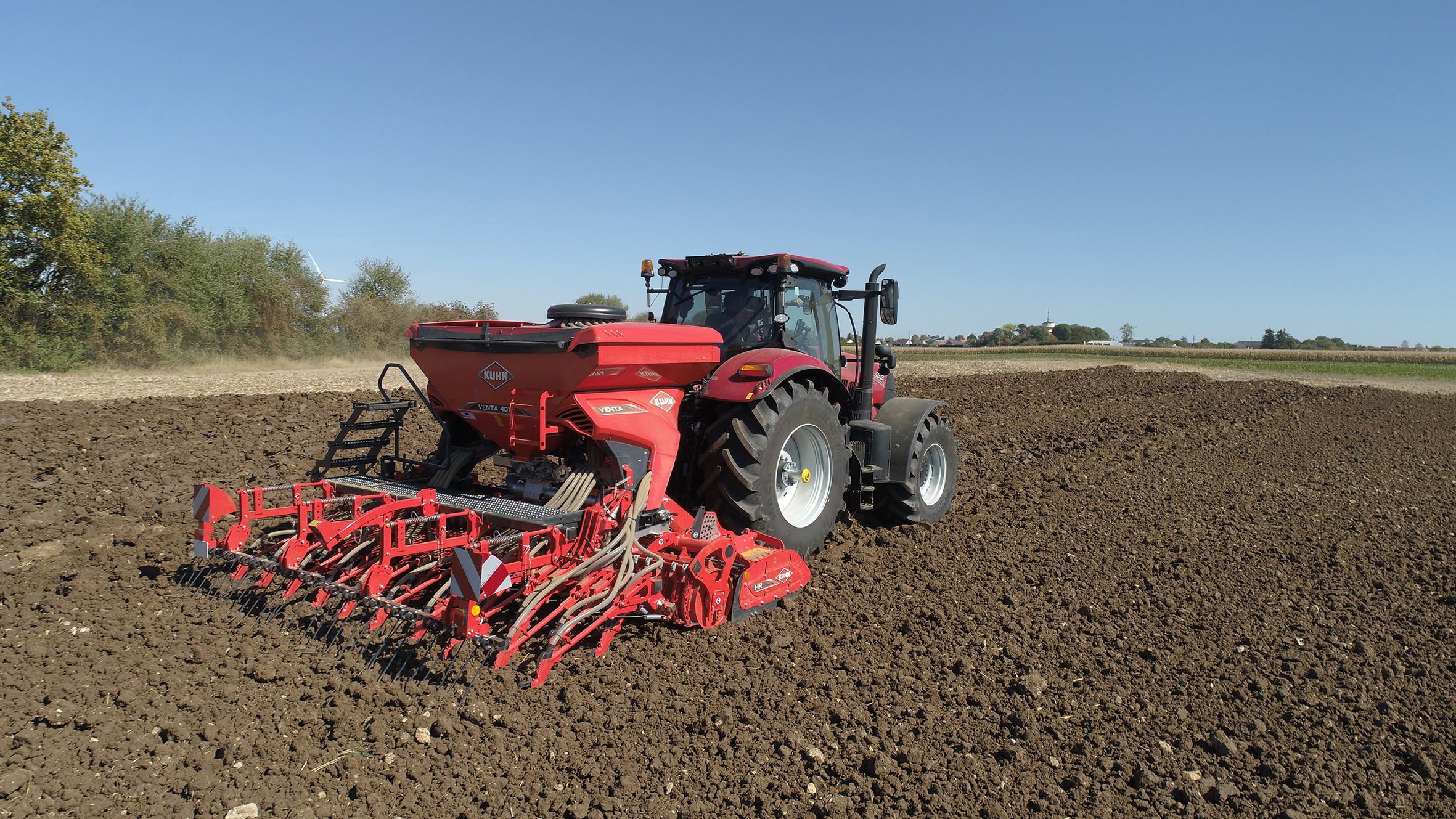 Suffolk coulters for the sowing depth channel for Kuhn's latest 1010 Venta drills