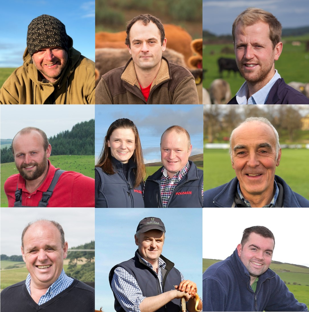 Nine beef and  sheep farmers selected as pilot farms in the GrassCheckGB