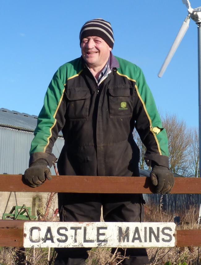Bob Simpson from Castlemains, East Lothain