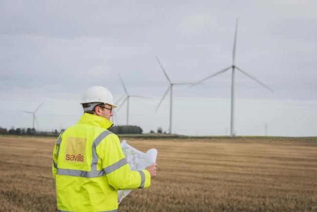 'Landlords who already have wind farms on their land have a real opportunity for additional income': Savills UK head of energy, Nick Green (Picture: Chris Watt)