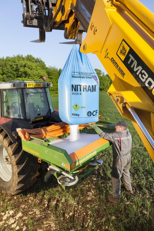 Grassland fertiliser is £20-£30 per tonne cheaper than what it was at the turn of the year