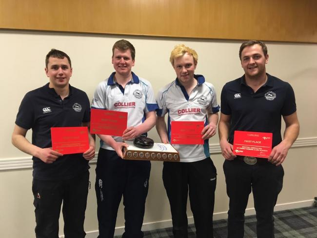 The National curling competition was held on Sunday, March 24, at Dewars Centre, Perth, with five teams taking to the ice in a bid to take home the winning title. West Fife YFC were crowned the winners, comprising of team members (left to right) Fraser Th