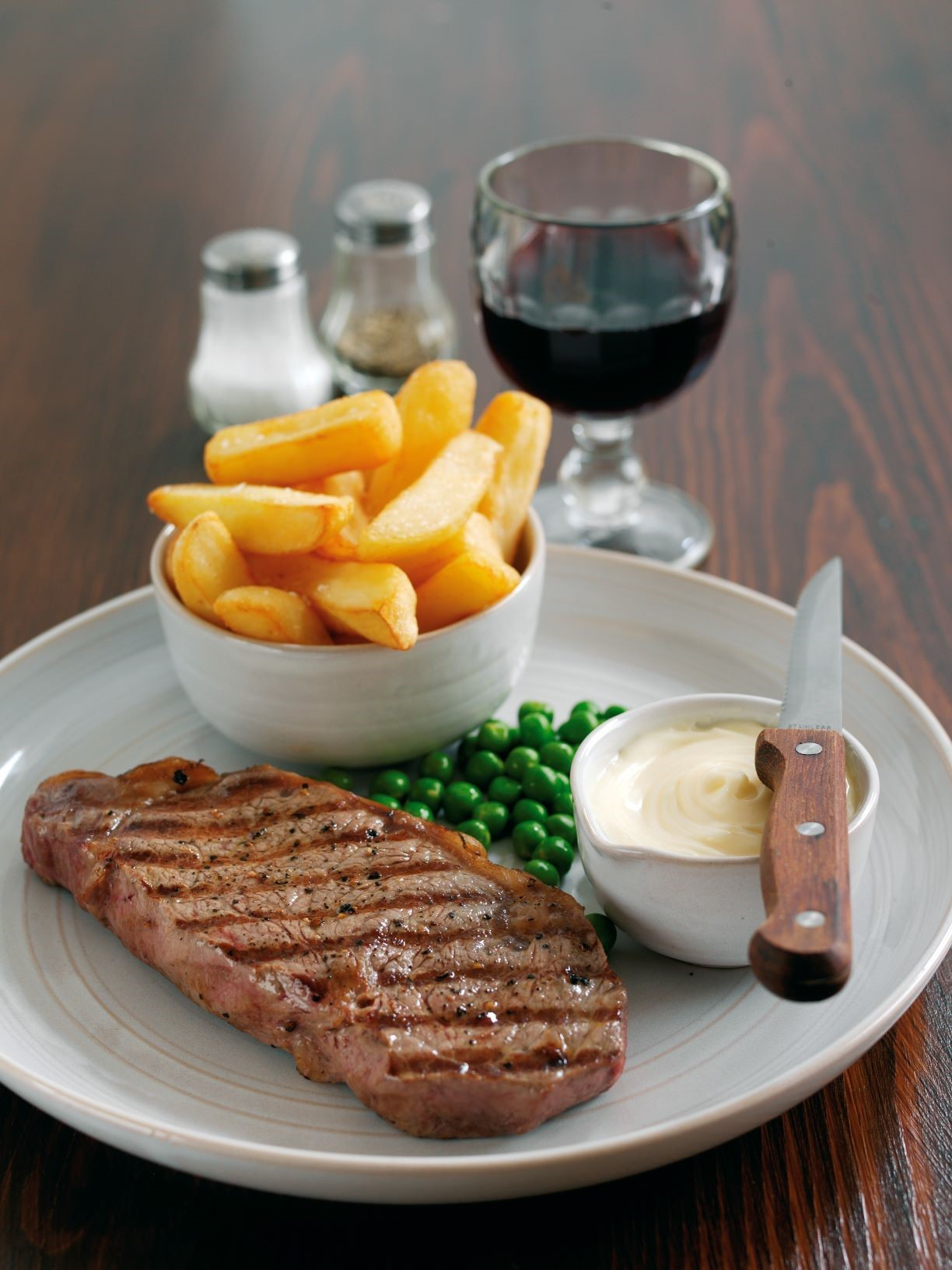 The Great British Public have been voting with their money - happily spending it on steak and chips