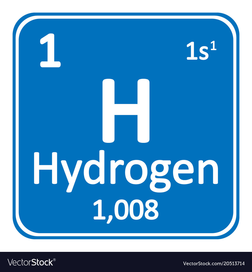 Hydrogen - the first element in the Periodic Table