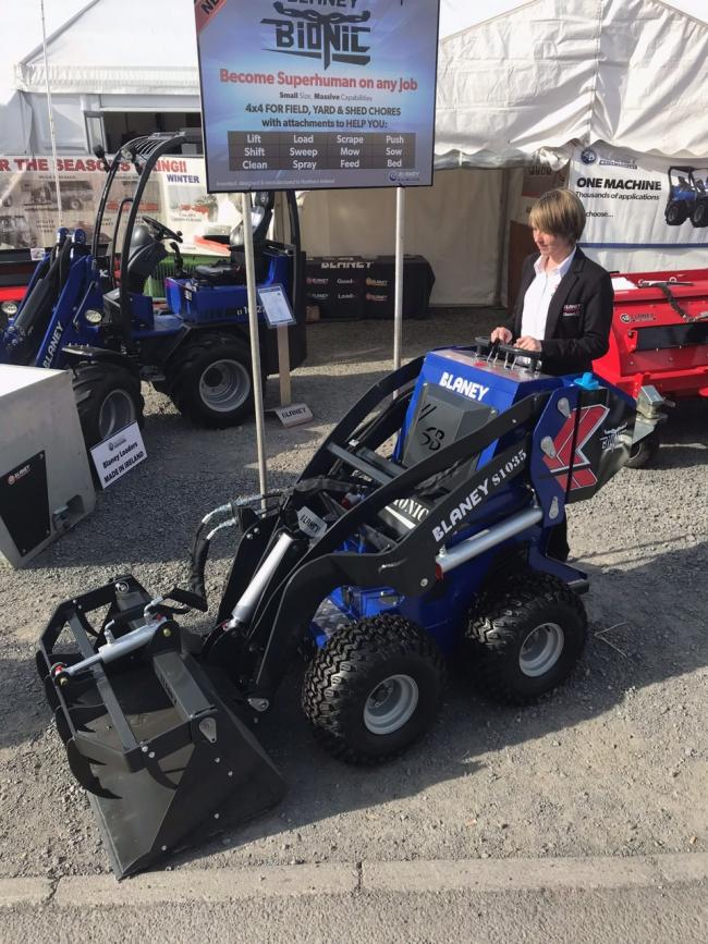 Irish company Blaney Motors little Bionic mini-loader can help with a variety of jobs around the farm