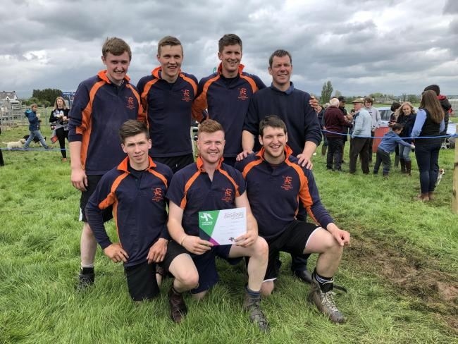 Carluke took victory at the west region tug of war competition held alongside Gargunnock show, with Biggar and Callendar taking second and third place respectively: 