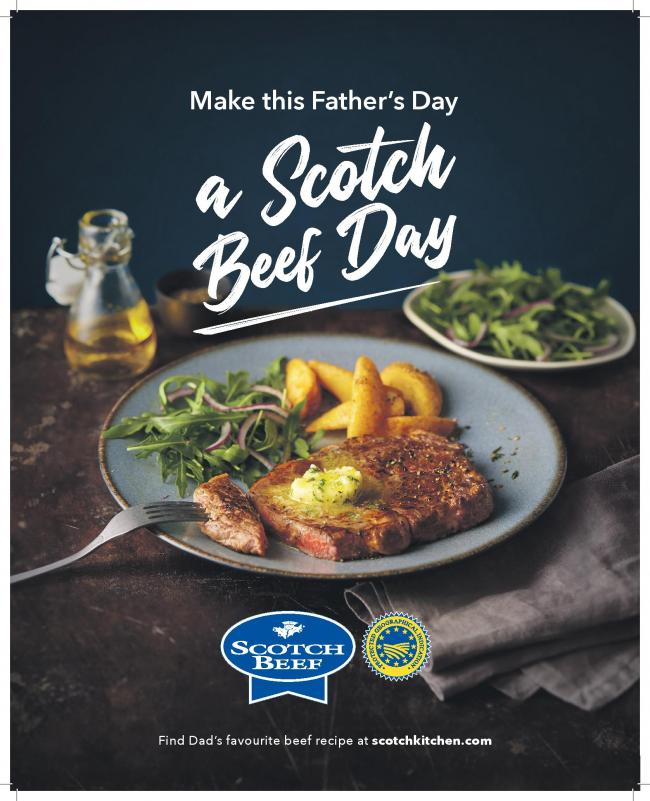 Give Dad a treat with Scotch Beef